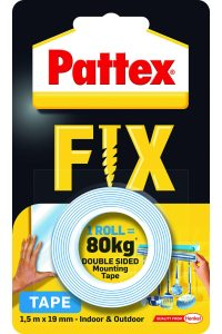 Pattex Super Fix lepiaca páska 1,5m x 19mm nosnosť 80kg